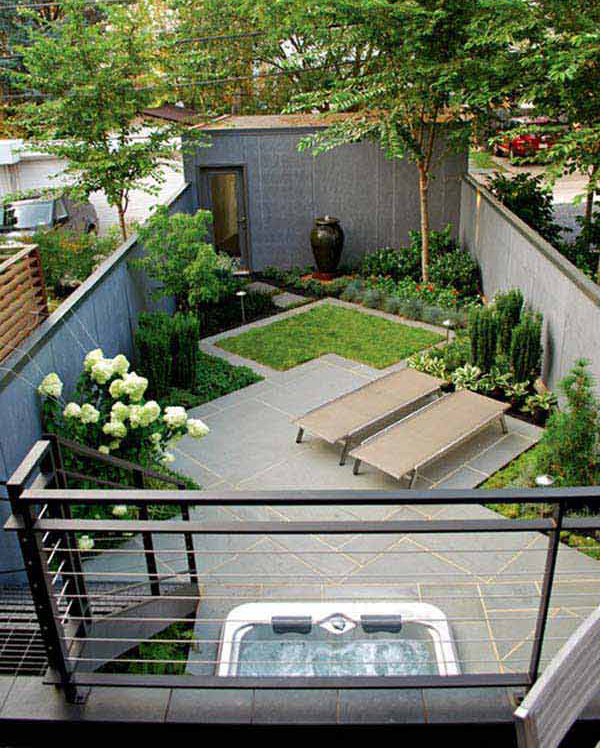 Small backyard decor ideas for Backyard mural ideas