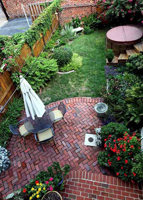 ... Design And Regarding Small Backyard Garden U003eu003e Source Small ...