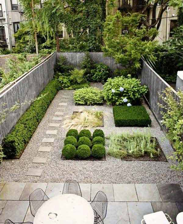 Small backyard gardening ideas for Landscape gardening for small gardens