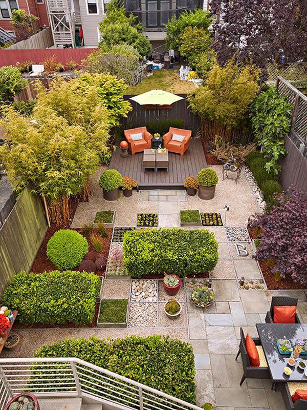20 Small Backyard Garden For Look Spacious Ideas ...