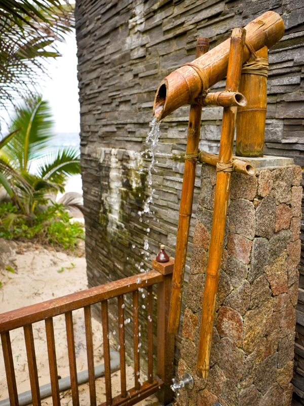 Diy Bamboo Outdoor Shower Home Design And Interior