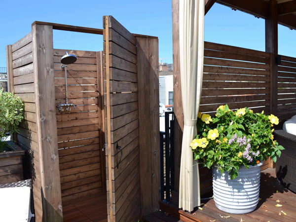 Course You Want The Freshness When Arrive At Home Especially Before Go To Bed Rest Diy Outdoor Shower