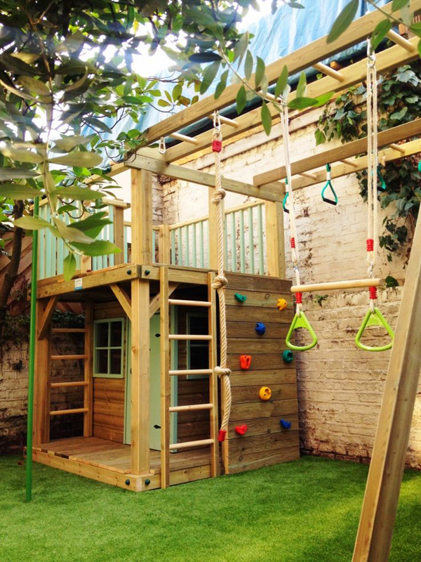 20 Cool Outdoor Kids Play Areas For Summer Home Design
