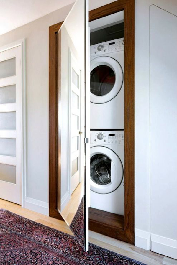 20 Stylish And Hidden Laundry Room Designs Home Design