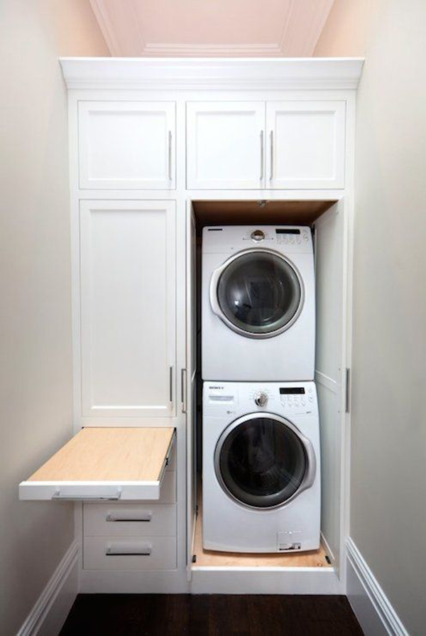 20 stylish and hidden laundry room designs home design and interior - Laundry rooms for small spaces decoration ...