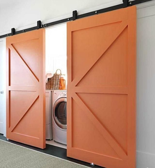 Laundry Room Doors : Stylish and hidden laundry room designs home design