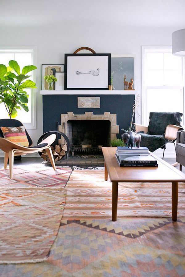 Home Design Rugs Part - 17: 20 Turkish Kilim Rugs With Ethnic Style