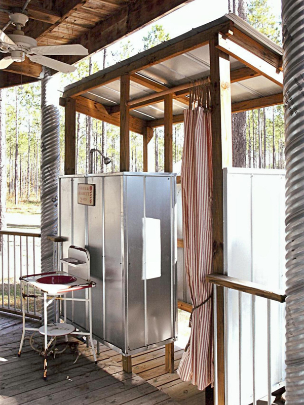 starting from ideas an outdoor shower to modern rustic style can be found here for reference backyard creative diy project - Modern Rustic Shower