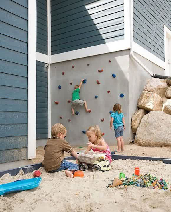 20 Cool Outdoor Kids Play Areas For Summer | HomeMydesign