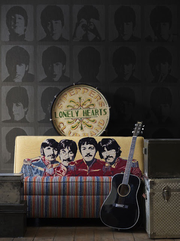 The beatles wallpaper for Beatles bedroom ideas