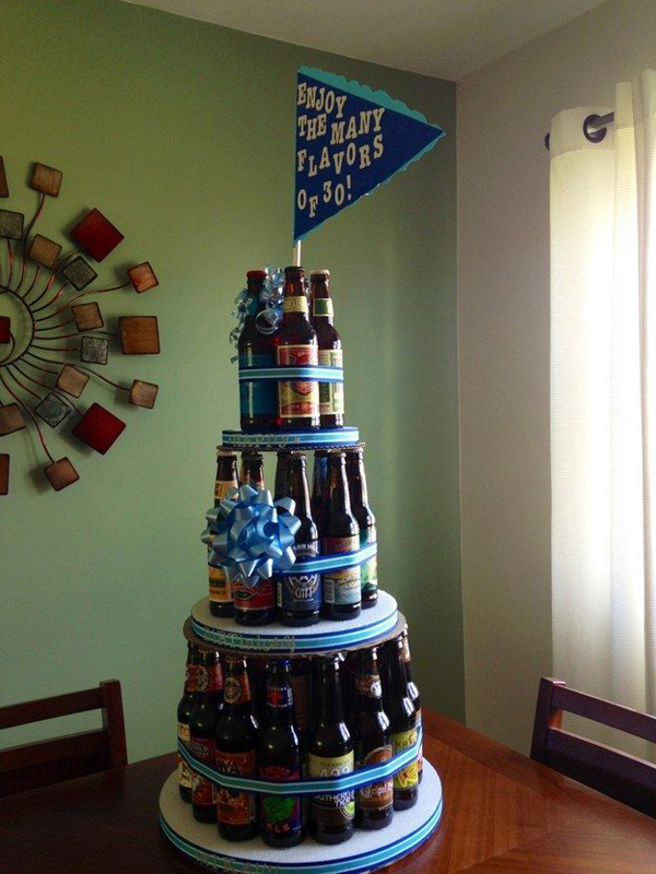 Happy birthday craft beer cake - photo#12