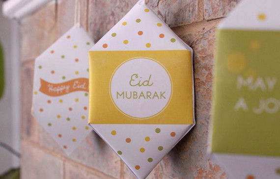 DIY-eid-mini-triangular-paper-lantern