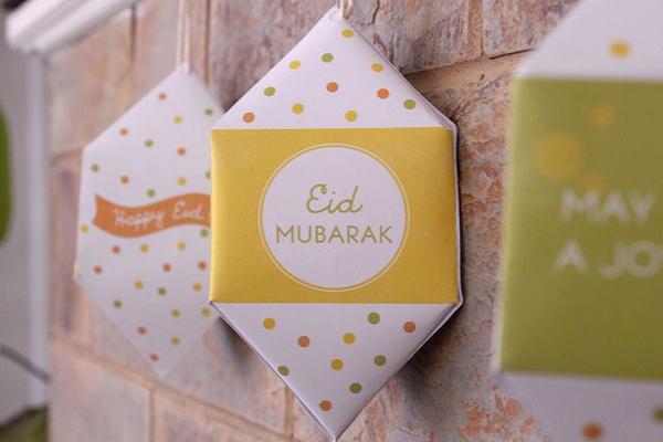 15 beautiful eid mubarak craft ideas  homemydesign