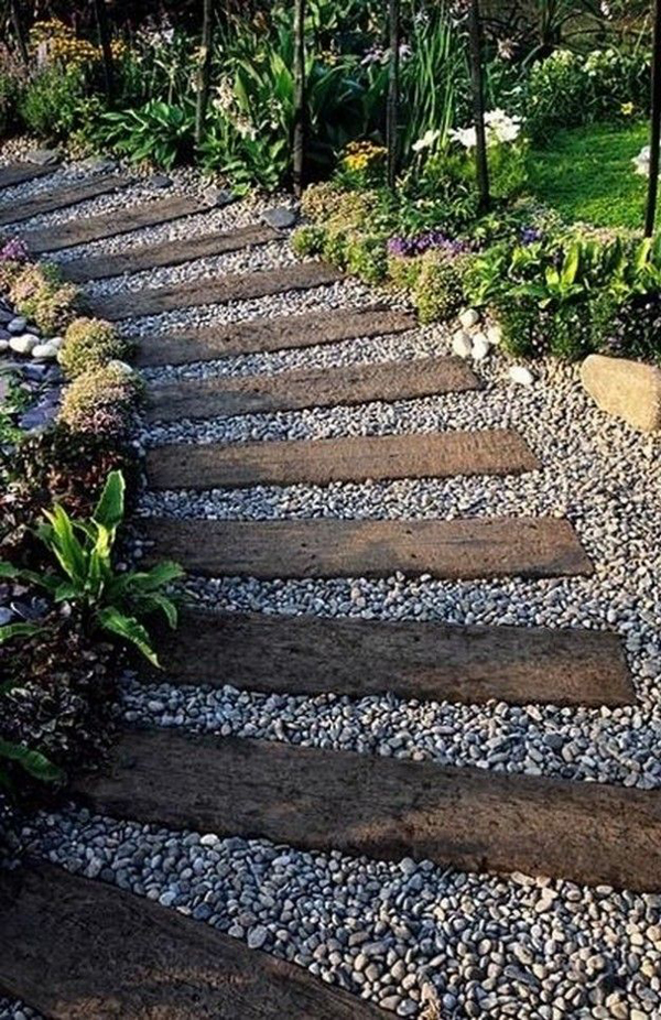 10 unique diy garden path designs home design and interior for Garden path designs