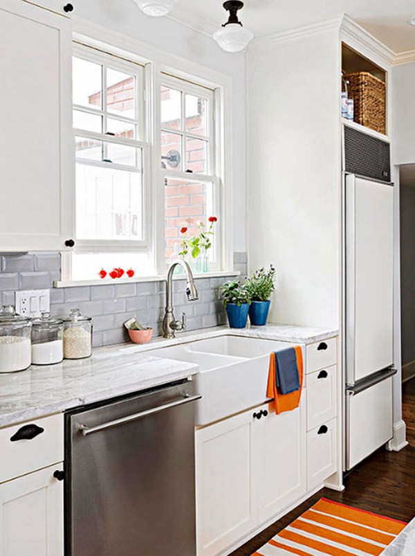 Bright kitchen backsplash ideas Bright kitchen