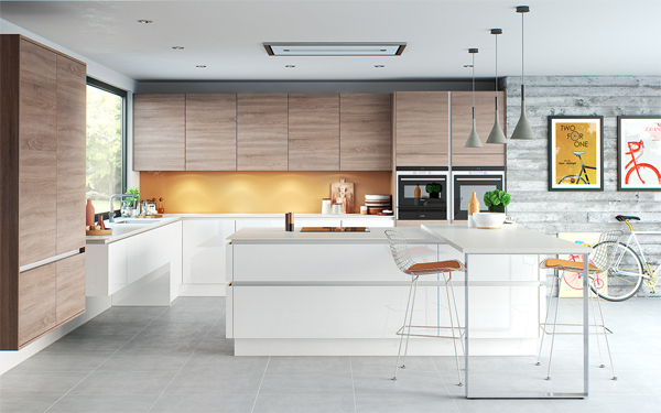 20 modern sleek kitchen designs home design and interior for Sleek kitchen design ideas