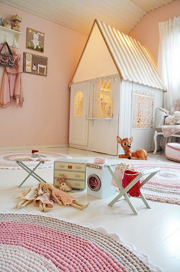Indoor Playhouses For Girl