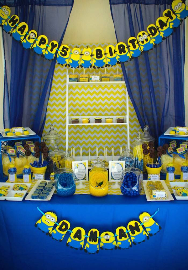 Having Recently Minions The Movie Aired I Think They Of Will Make Birthday Party Theme Is Really