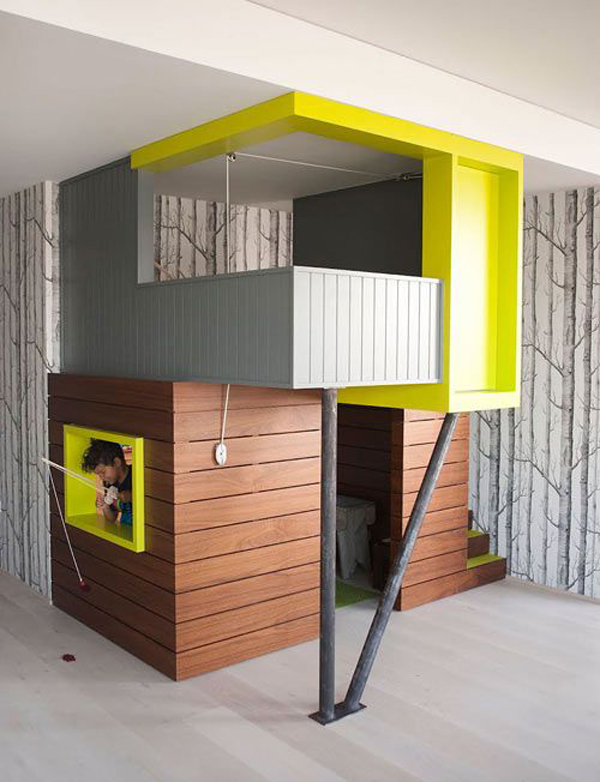 15 awesome indoor playhouses for kids home design and
