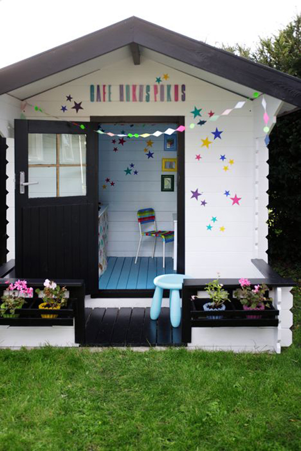 Outdoor Kids Playhouse Decor Ideas