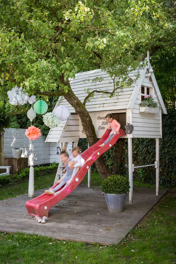 gallery of 20 cheerful outdoor kids playhouses