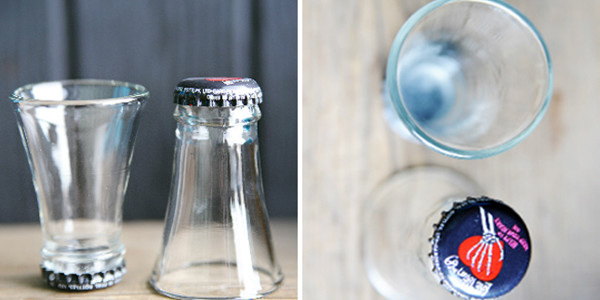 shotglass-from-recycle-beer-bottles