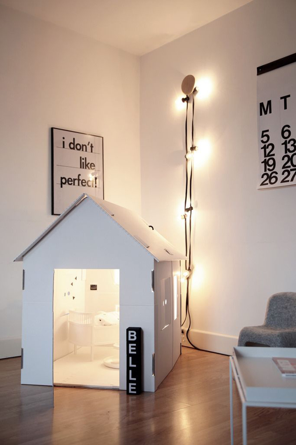 15 Awesome Indoor Playhouses For Kids   Home Design And Interior