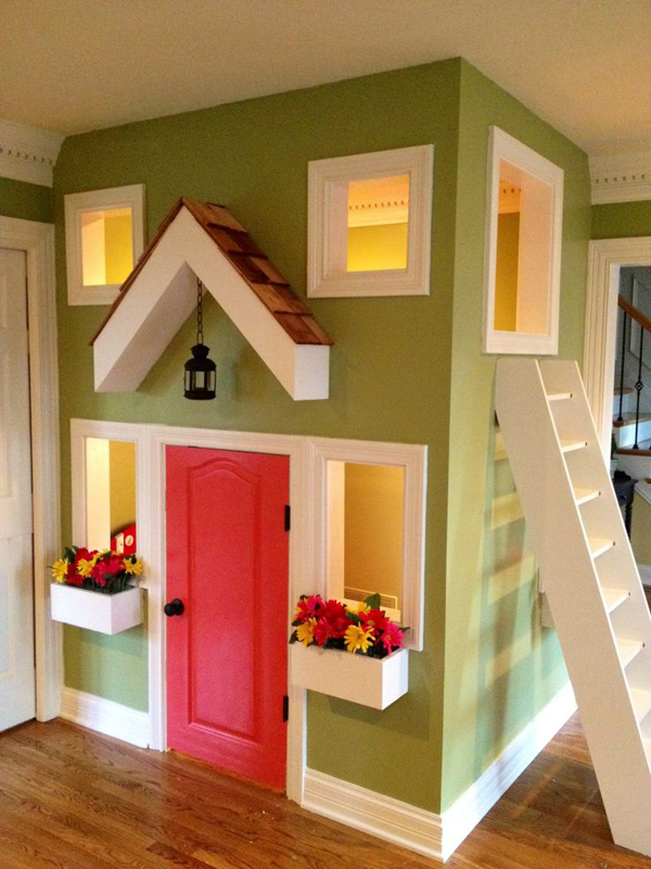 Small indoor kids playhouse design for Design my home