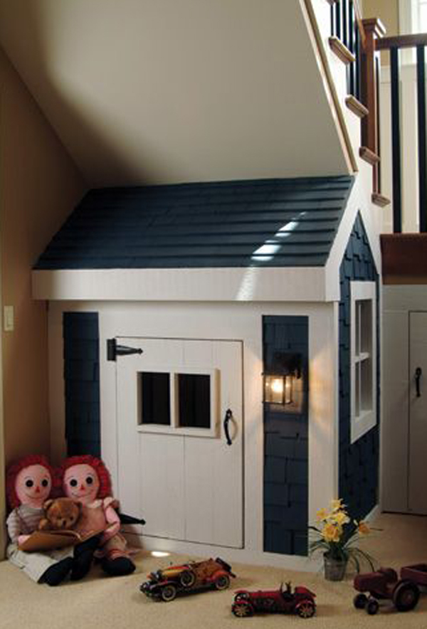 10 Amazing Kids Playhouses Under The Stairs Home Design