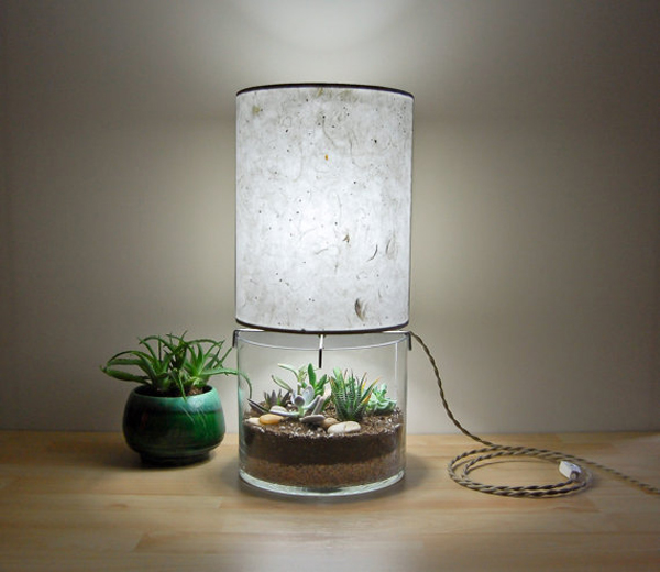 ... Table Lamps With Handmade Paper Lampshade | Home Design And Interior