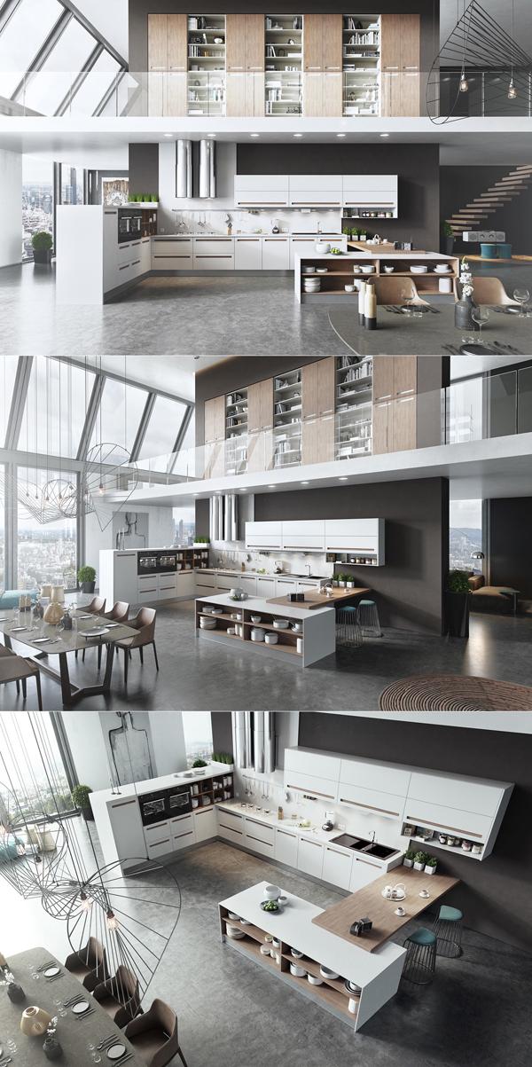 20 modern sleek kitchen designs home design and interior for Sleek kitchen design ideas