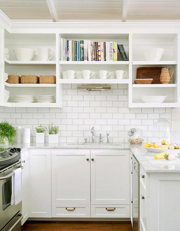 white-kitchen-mosaic-tile-backsplash-ideas | Home Design And ...