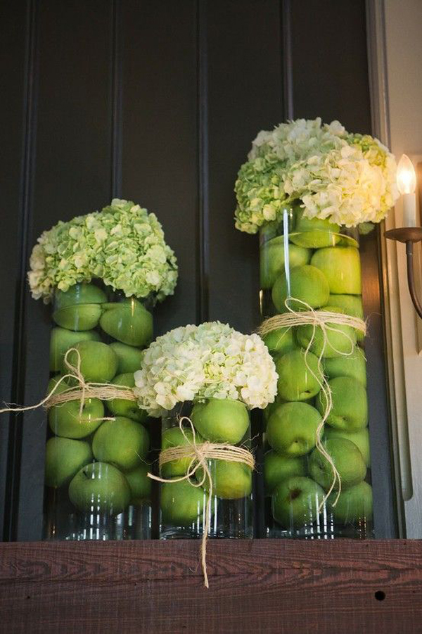 10 cute diy apple decorations for autumn home design and interior - Creative decoration ideas for home without ripping you off ...