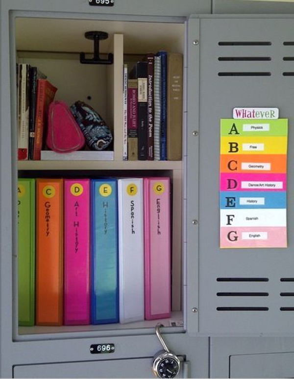 Gallery of 15 back to school organization for kids
