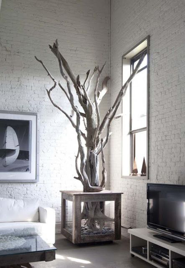 15 Natural Driftwood Furniture For Your Interiors | Home Design And