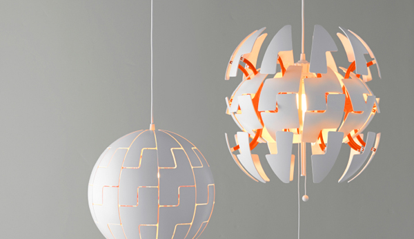 Futuristic Spaceship Chandelier From Ikea Home Design And