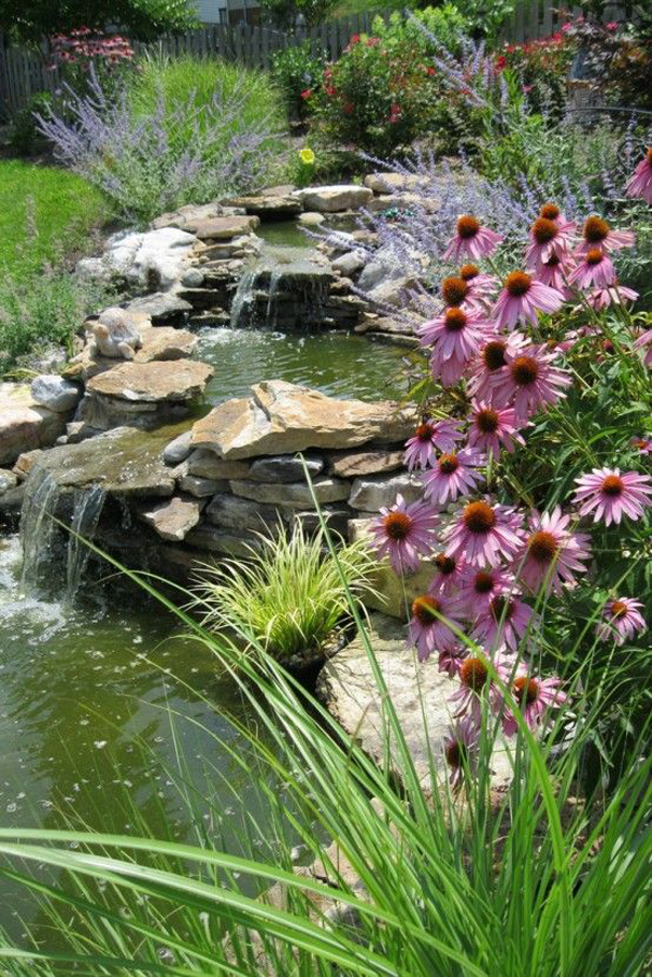 35 Dreamy Garden With Backyard Waterfall Tips Decorazilla Design Blog