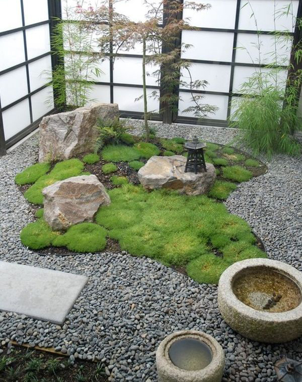 15 cozy japanese courtyard garden ideas home design and for Creating a courtyard garden