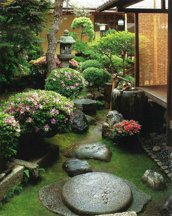 15 Cozy Japanese Courtyard Garden Ideas | HomeMydesign