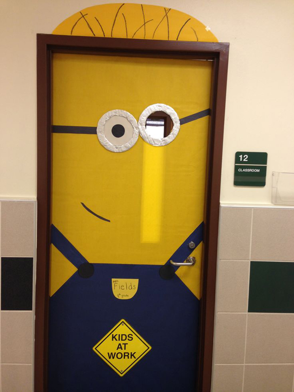 Minion Classroom Door Decor ~ Minion door for kids classroom