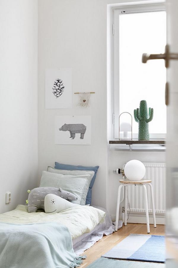 Simple Room Design Ideas: 10 White And Simple Kids Room Ideas