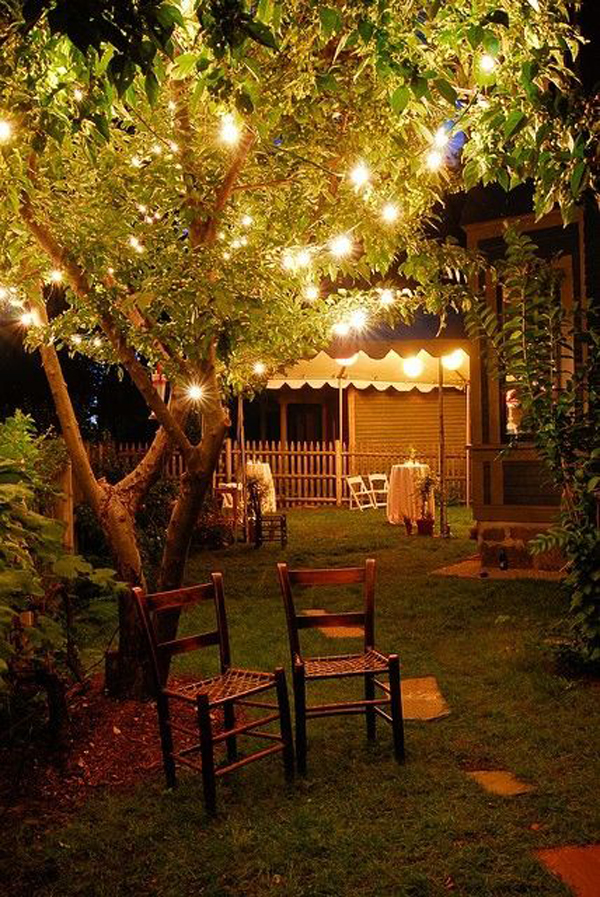10 Most Romantic Backyard Lighting Ideas | Home Design And ... on Romantic Backyard Ideas id=81637