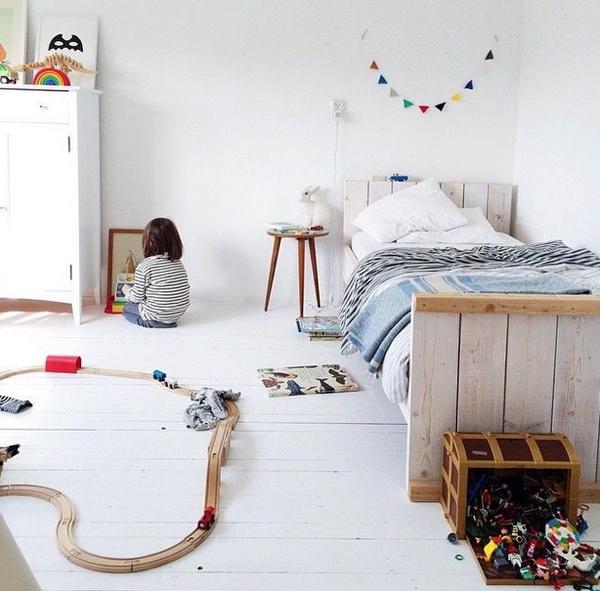 Bedroom Ideas Minimalist Bedroom Hanging Cabinet Design Gaming Bedroom Design Ideas Cute Black And White Bedroom Ideas: 10 White And Simple Kids Room Ideas