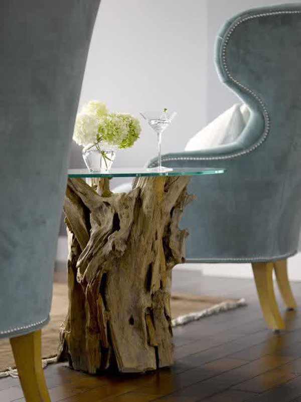 15 Natural Driftwood Furniture For Your Interiors Home