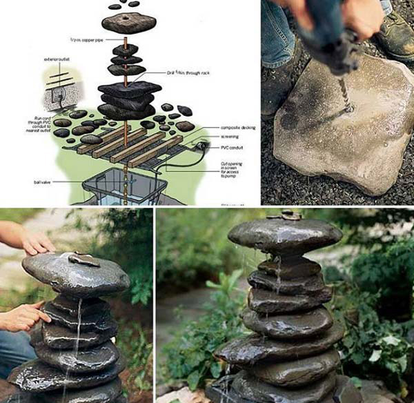 15 Simple Diy Garden Projects With Rocks And Stones