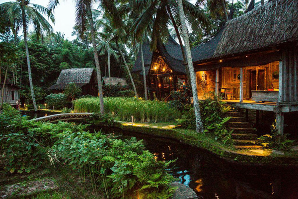 Traditional Bambu Indah Resort In Bali Home Design And