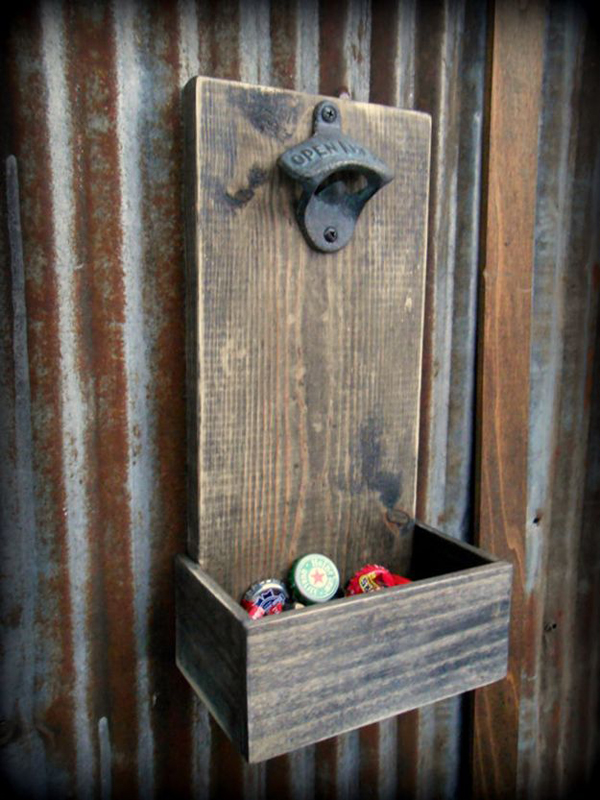 beer bottle opener and cap catcher. Black Bedroom Furniture Sets. Home Design Ideas