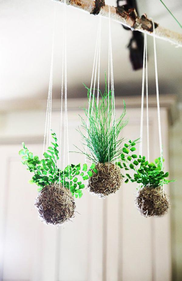20 Beautiful Kokedama String Garden Ideas Home Design