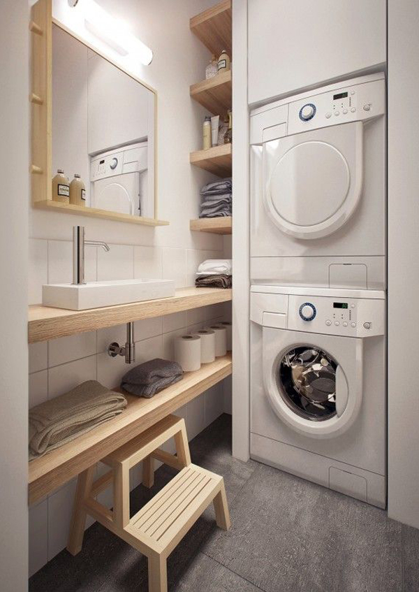 small-japanese-laundry-spaces