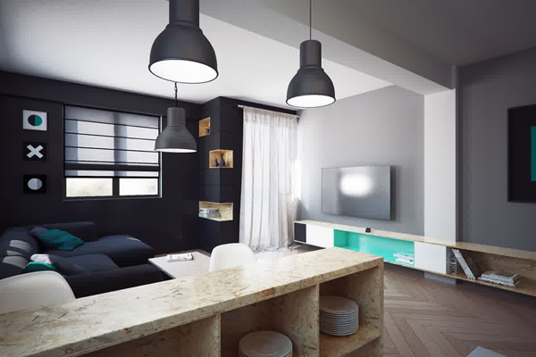 Two Tiny Apartment Under 40 Square Meters By Nikola ...